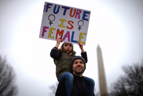 """The future is female"""