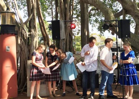 Jupiter High drama club performs at Jupiter Inlet Lighthouse
