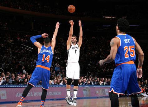 New York Knicks versus Brooklyn Nets