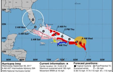 Safety tips for Hurricane Irma in Jupiter, Florida