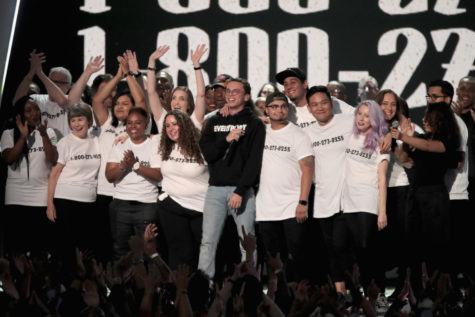 Celebrities take a stand for Puerto Rico at Latin Grammy Awards