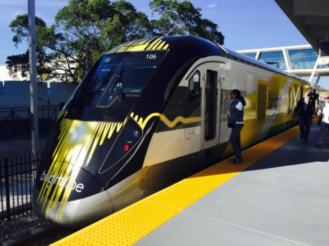 New Florida Brightline train launches first phase in 2018