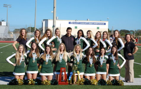 Jupiter High competitive cheer team dominates