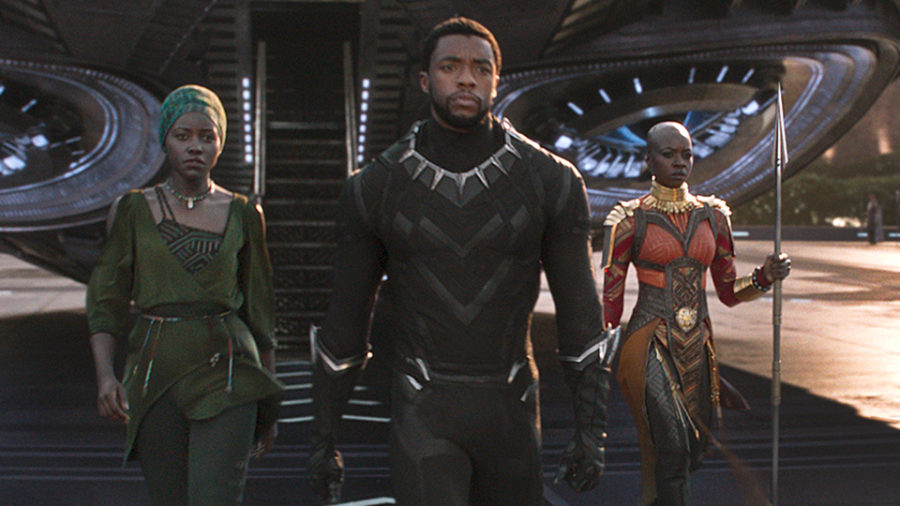 Black+Panther+roars+into+theaters