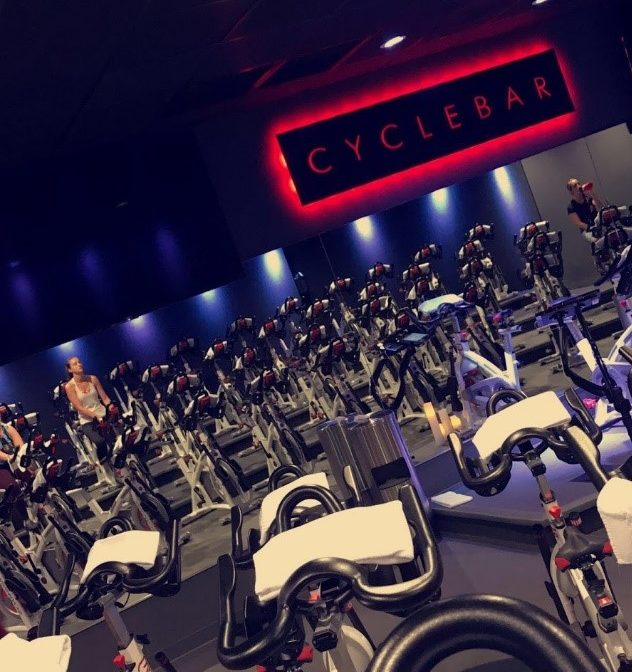 Inside look of Cycle bars spinning room.