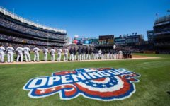 Major League Baseball opening day makes history