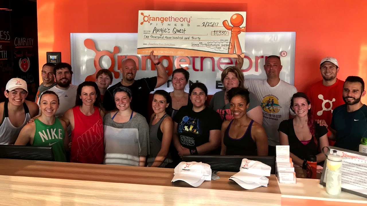 Orange Theory studio raises money to support AlS.