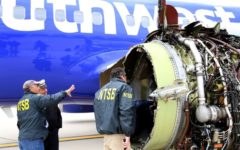 Southwest flight forced to land after a fatal explosion
