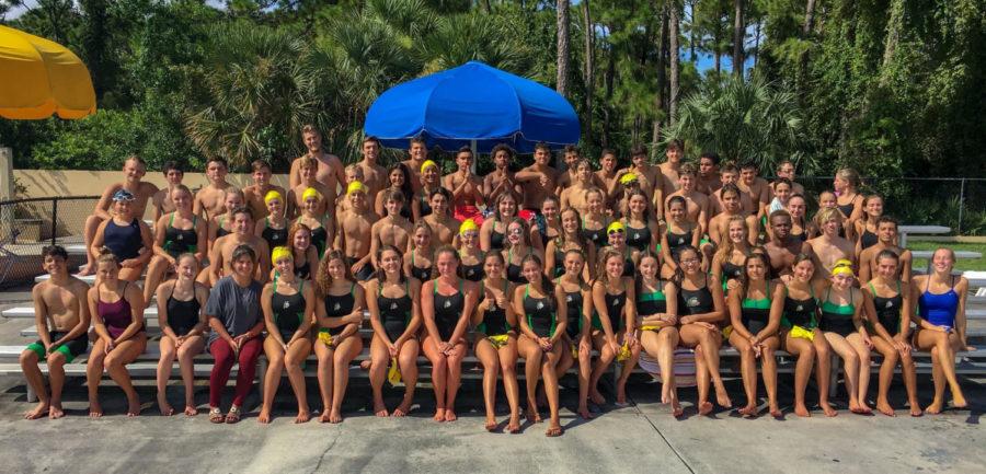 Jupiter High's swim and dive team splashes into a new season