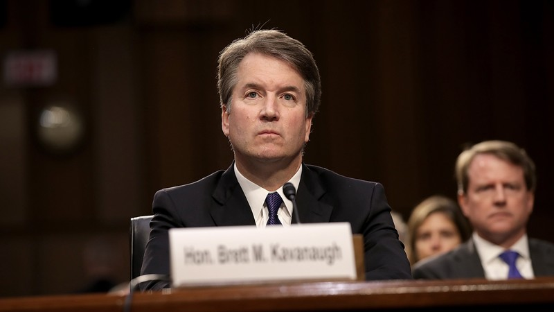 The+Kavanaugh+decision+was+especially+divisive+across+party+lines.++