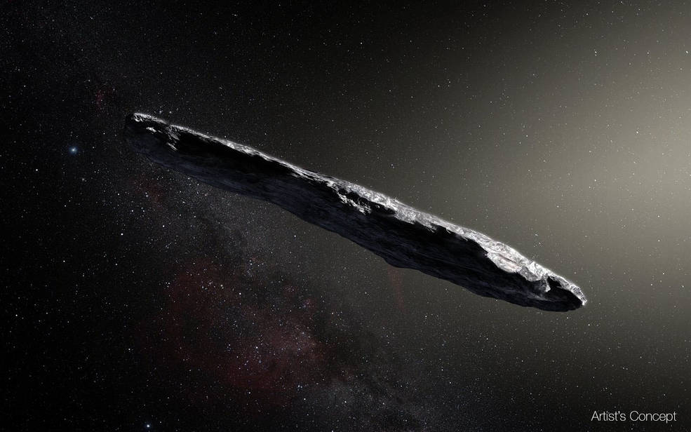 Harvard scientists believe `Oumuamua to be an alien technology.
