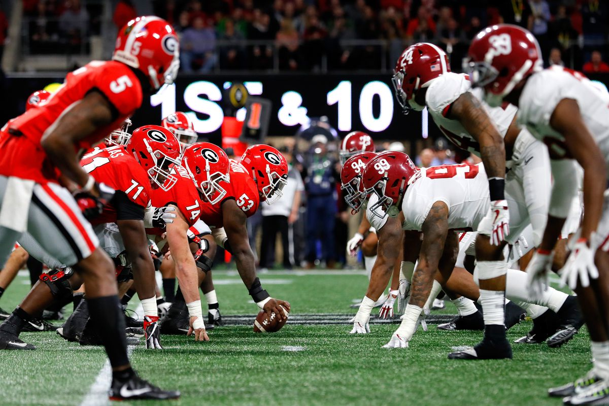 The 2018 SEC championship decided the playoffs rankings.