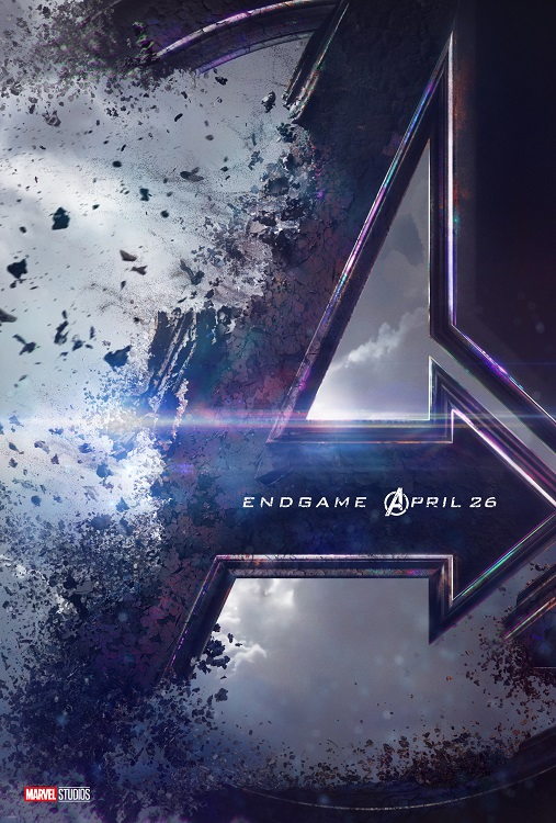 "The promotional poster for ""Avengers: Endgame."""