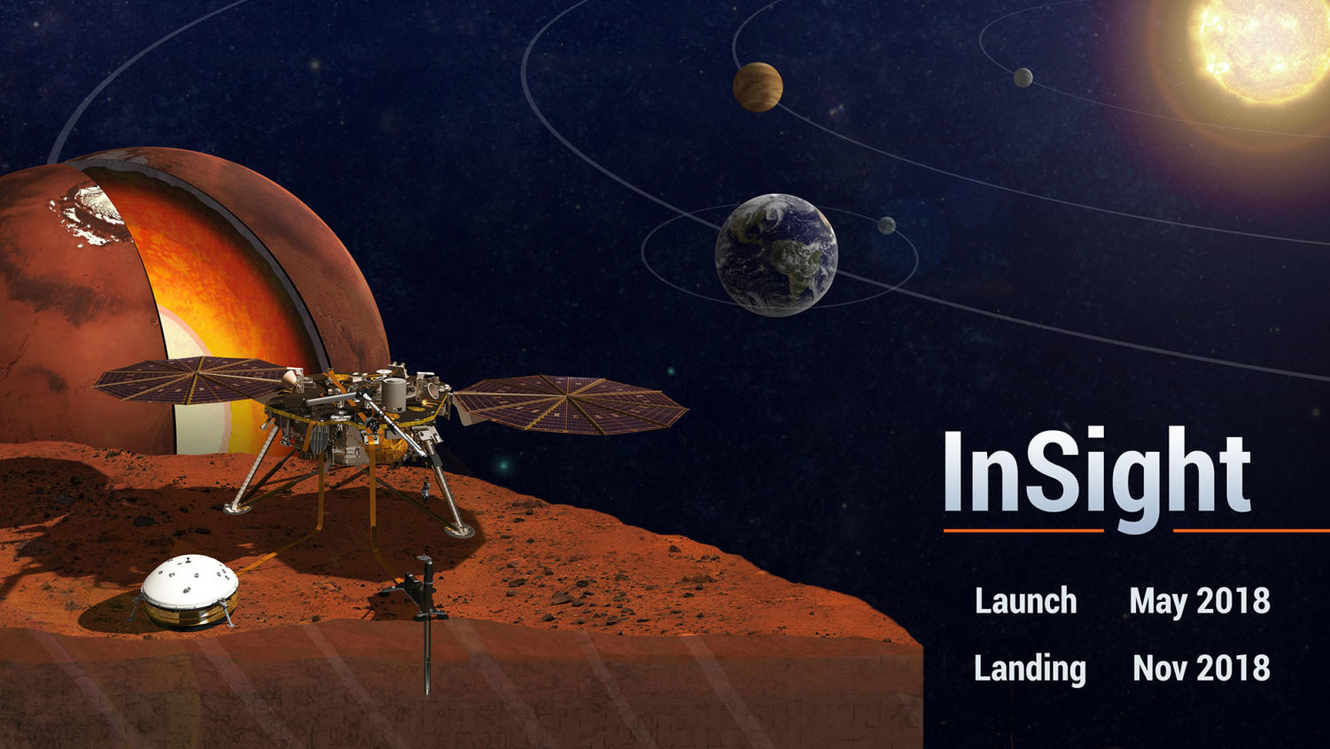 NASA successfully lands InSight on Nov. 26.