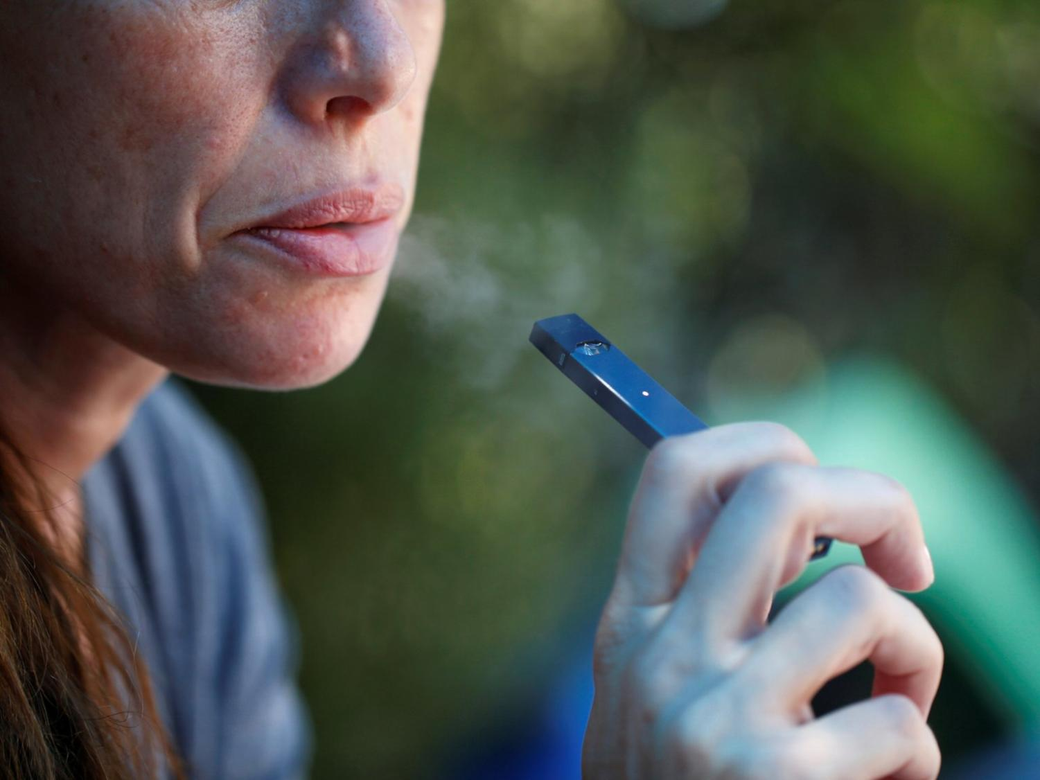 Though e-cigarettes were marketed as a safer alternative to traditional tobacco products, they still contain high levels of nicotine.