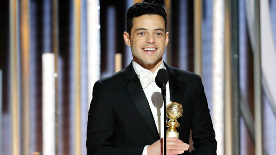 76th+ANNUAL+GOLDEN+GLOBE+AWARDS+--+Pictured%3A+Rami+Malek%2C+winner+of+Best+Actor+-+Motion+Picture%2C+Drama+at+the+76th+Annual+Golden+Globe+Awards+held+at+the+Beverly+Hilton+Hotel+on+January+6%2C+2019+--+%28Photo+by%3A+Paul+Drinkwater%2FNBC%29