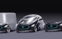 Mercedes Benz URBANETIC brings the future to transportation