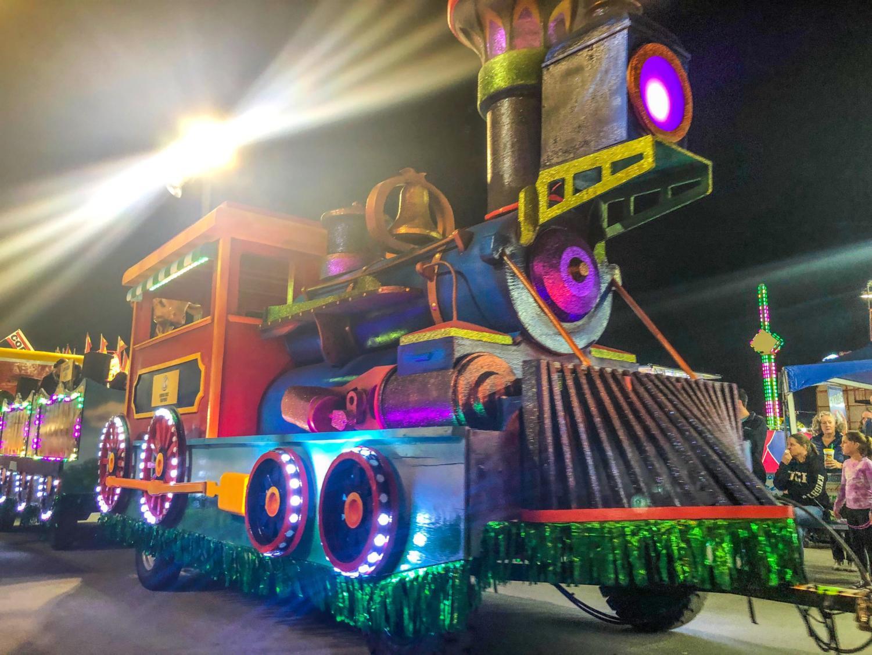 South Florida Fair parade float.
