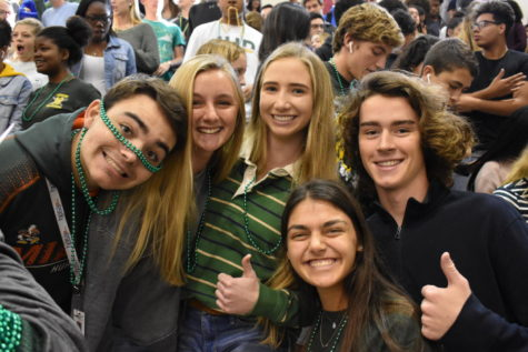 SGA puts on pep rally for winter sports