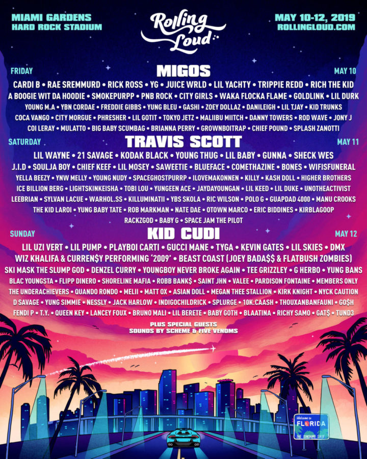 Rolling Loud Festival lineup released