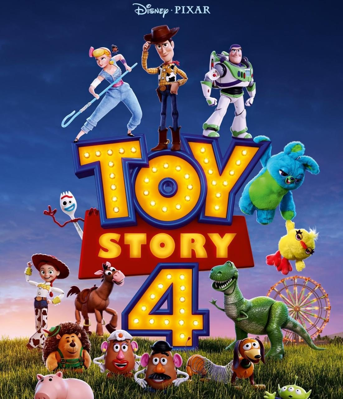 """Poster for """"Toy Story 4"""" releasing June 21"""
