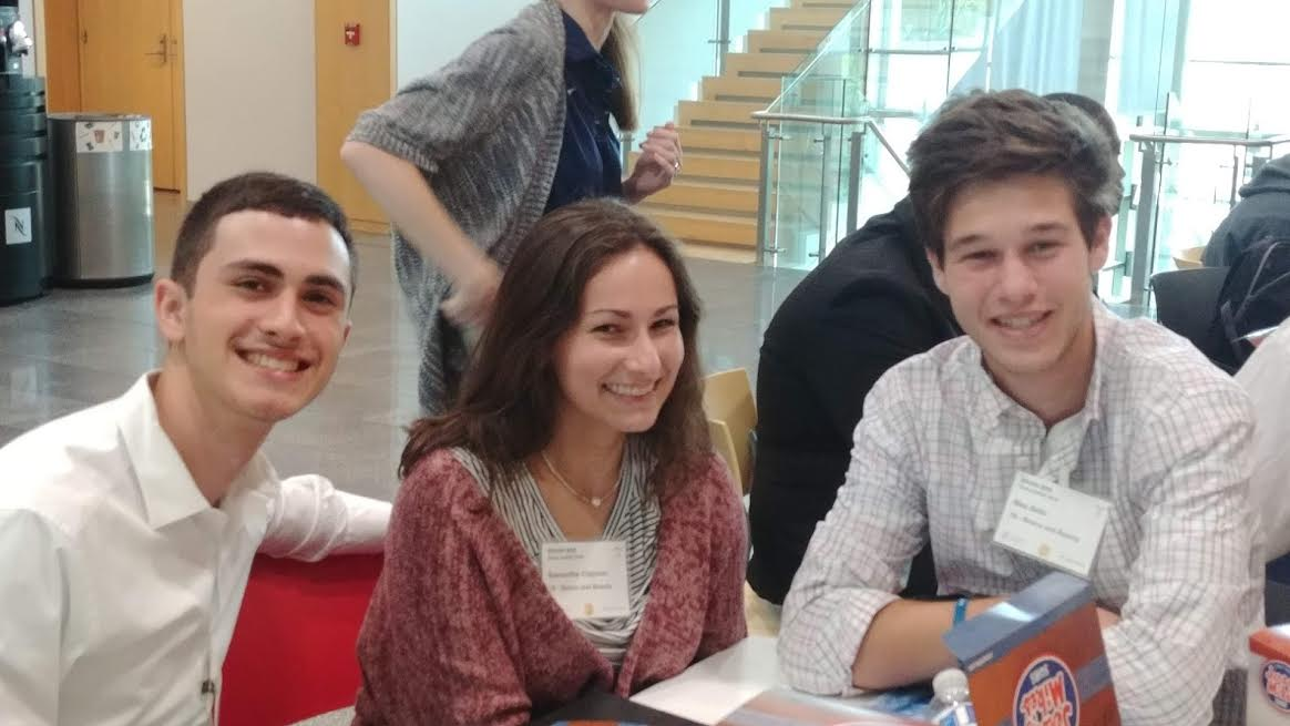 Junior Ajay Garg, senior Samantha Clayman and junior Max Bello competed at the Max Planck Florida Institute for Neuroscience's Brain Bee as Jupiter High's team one.