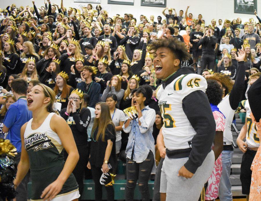 Jupiter High's Homecoming pep rally starts off Spirit Week