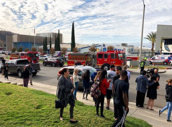 California school shooting left at least one dead and several injured