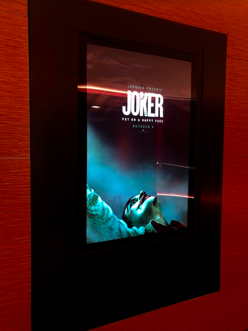 Movie+poster+for+%22Joker%22+at+the+Cinepolis+movie+theater+in+Jupiter%2C+Fla.