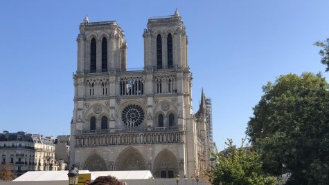A picture of the Notre Dame Cathedral taken before the devastating fire.