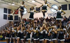 The sport of competitive cheerleading