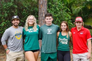 Jupiter High's Champions of Character honored on May 12 with a surprise parade.
