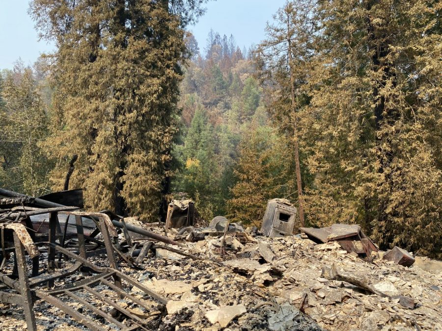 California wildfires scorch family ranch