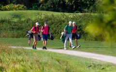 Members of Jupiter's boys golf team compete at Old Trail in Jupiter.