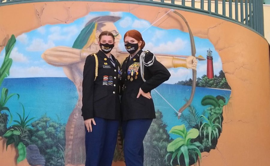 Jupiter High's JROTC leaders create new standards