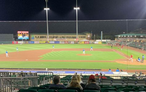 A view of MLB spring training at Roger Dean Stadium
