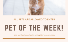 Submit a photo of your pet to be featured in Pet of the Week!