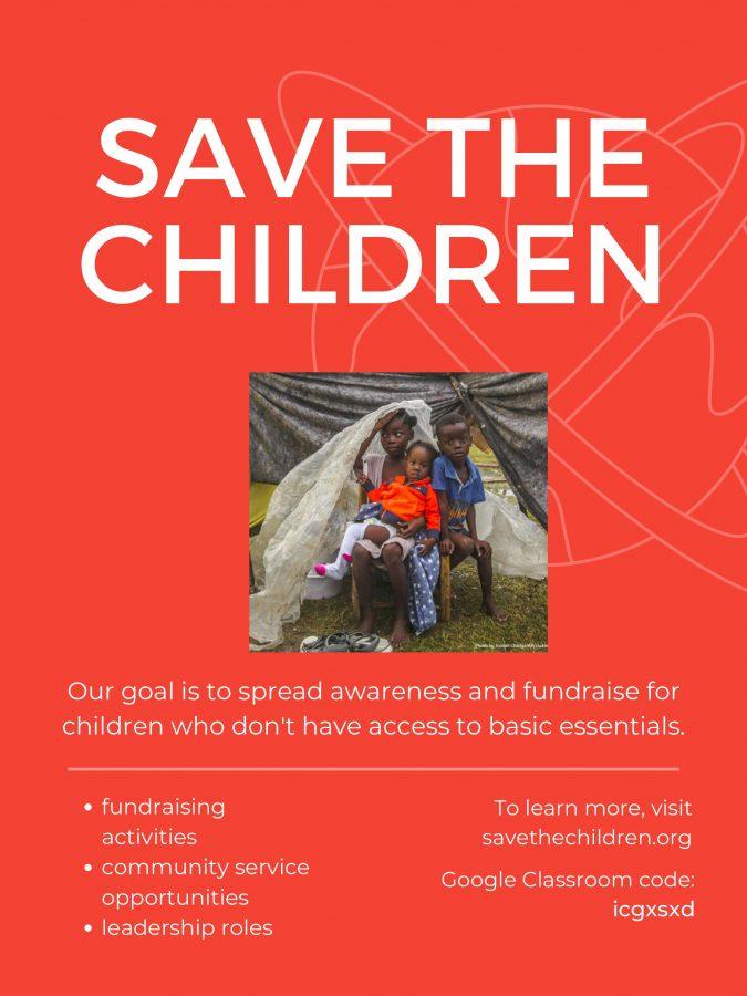 Jupiter students start Save the Children club