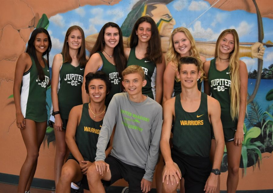 Cross country sets the pace